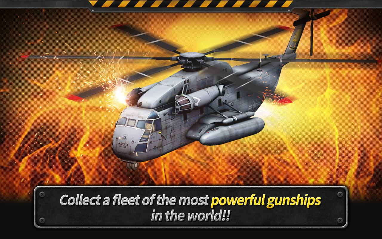 GUNSHIP BATTLE Helicopter 3D2
