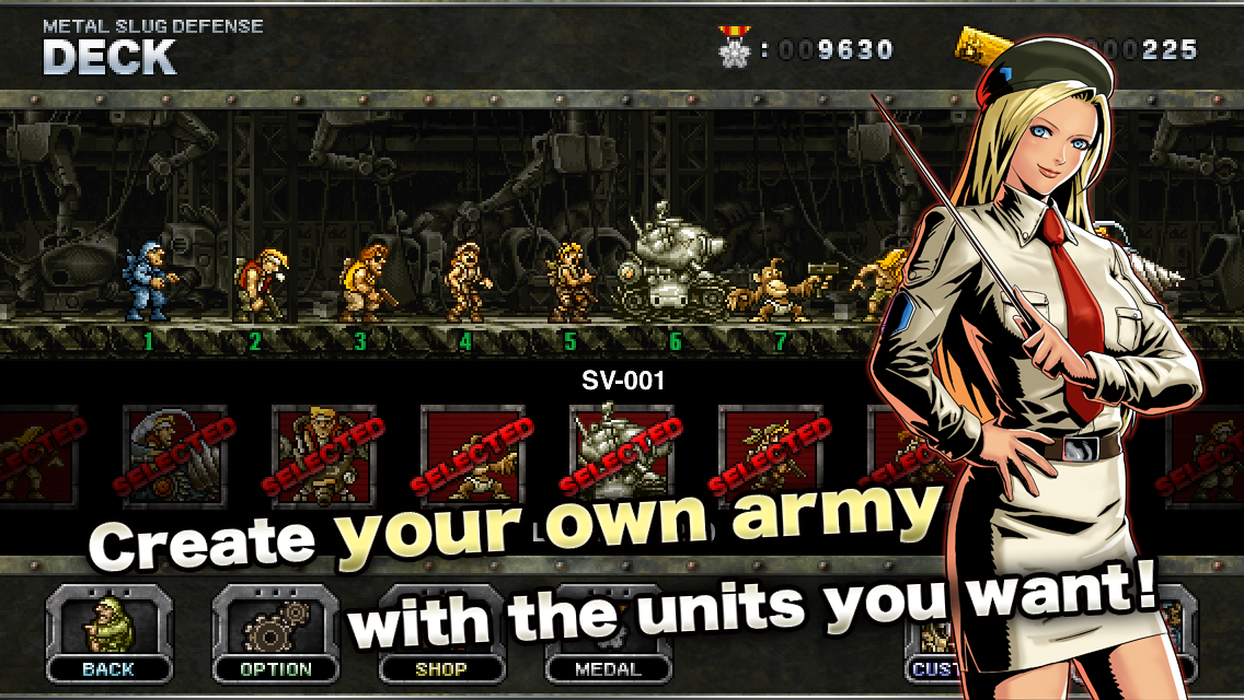 METAL SLUG DEFENSE3