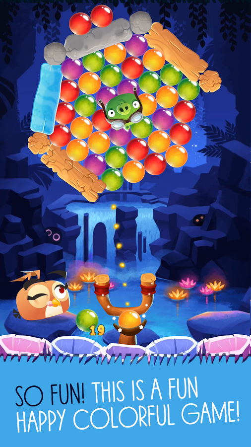 Angry Birds POP Bubble Shooter2