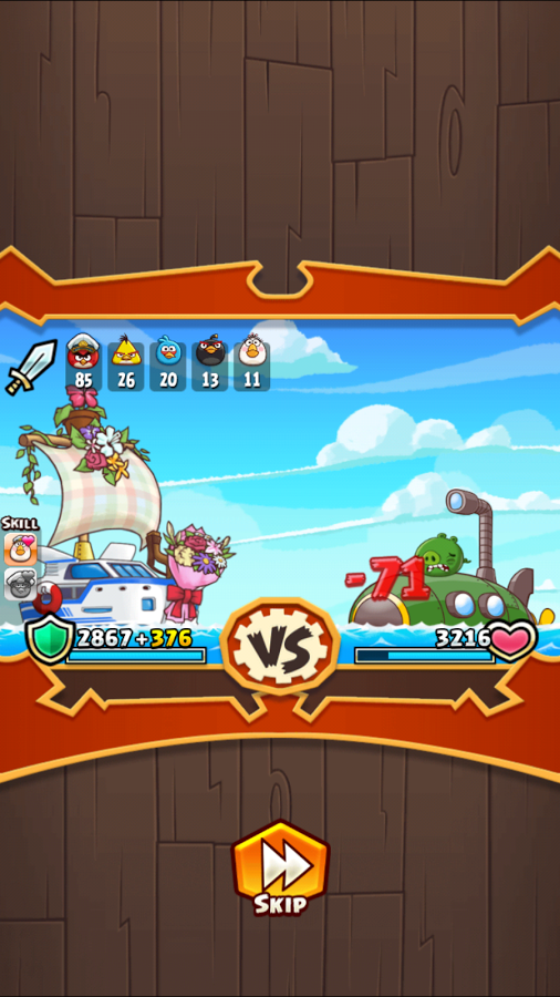 Angry Birds Fight! RPG Puzzle 4