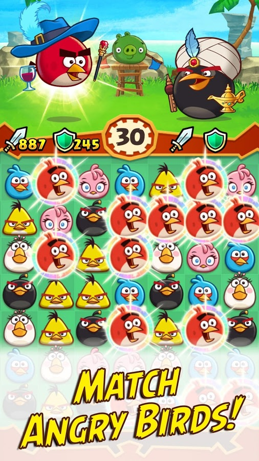 Angry Birds Fight! RPG Puzzle 5