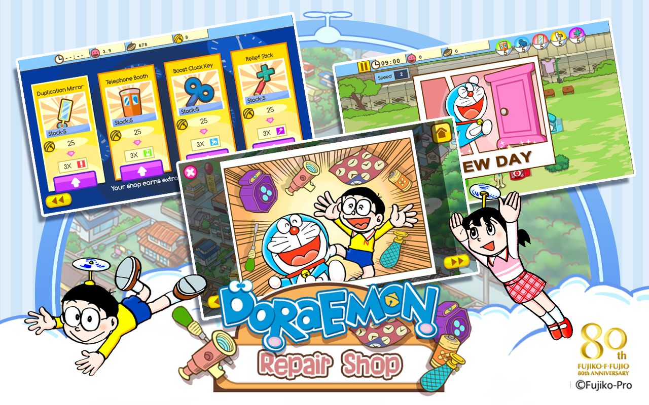 Doraemon Repair Shop 3