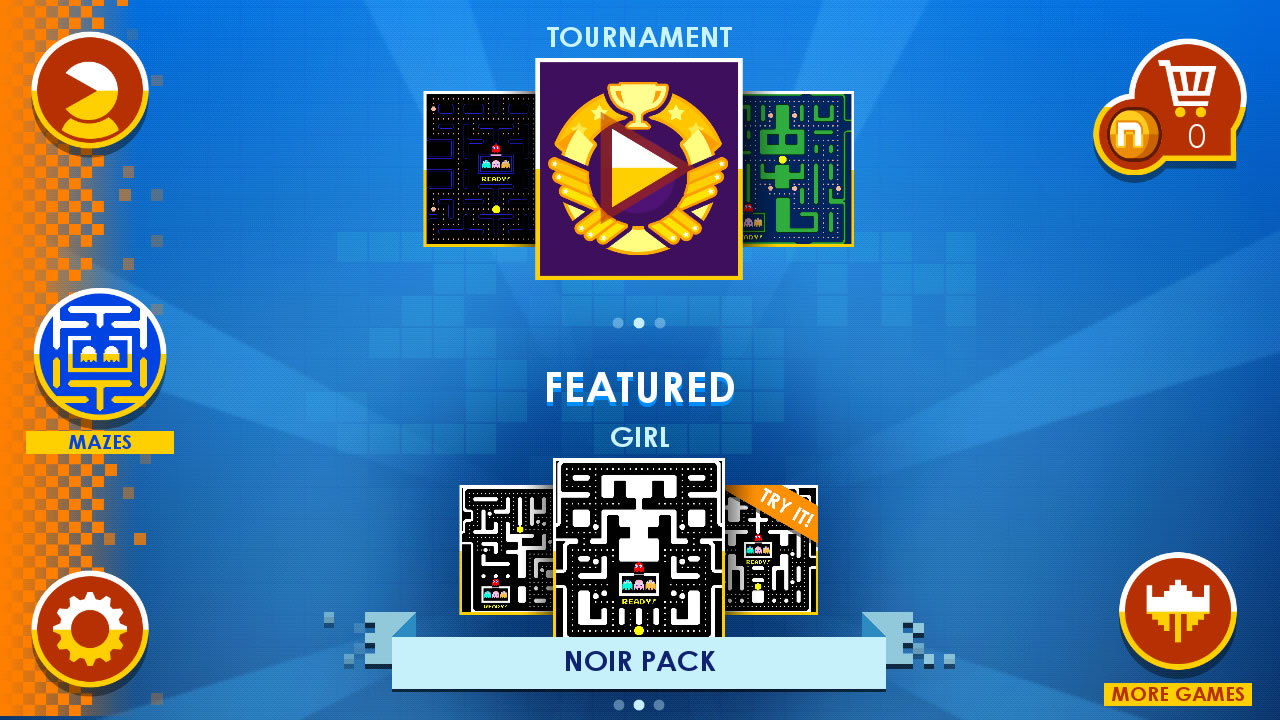 PAC-MAN + Tournaments 1