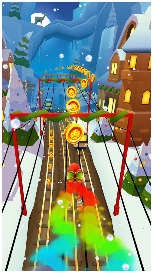 Subway Surfers 1 - 4