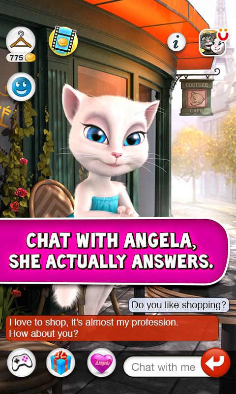 Talking Angela 1