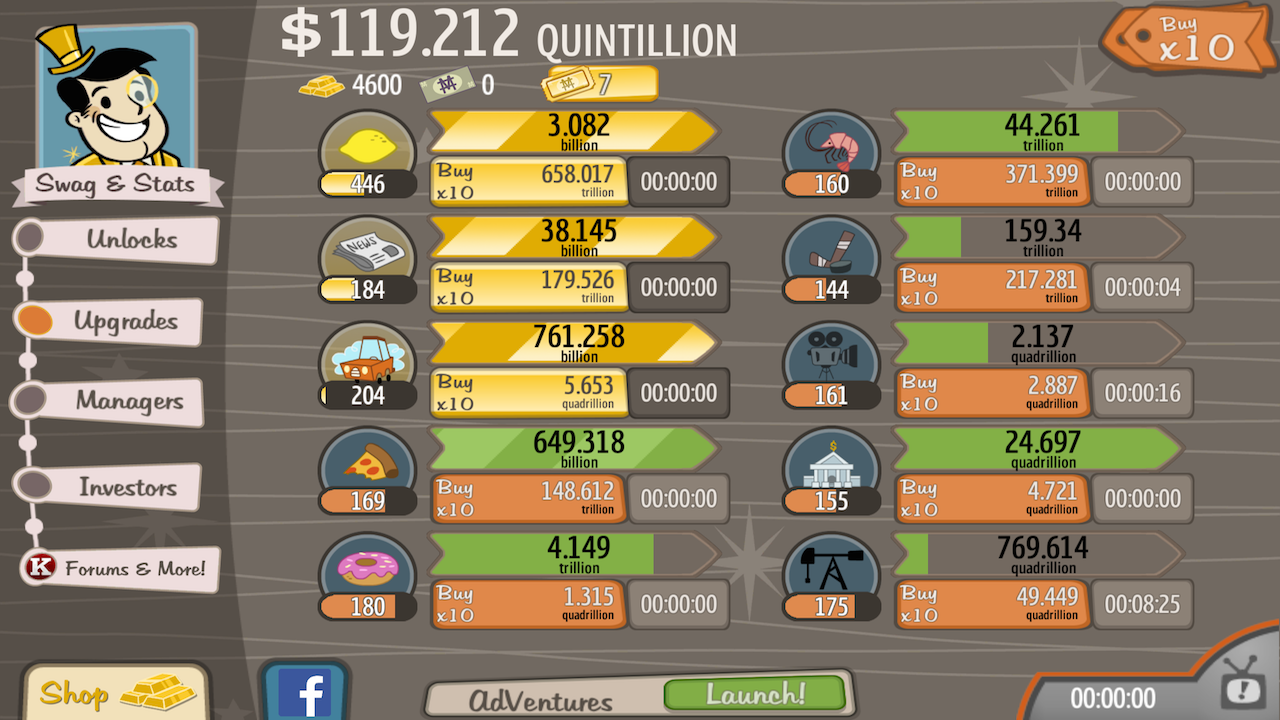AdVenture Capitalist Apk v5.0.2 Mod Money | ApkDlMod