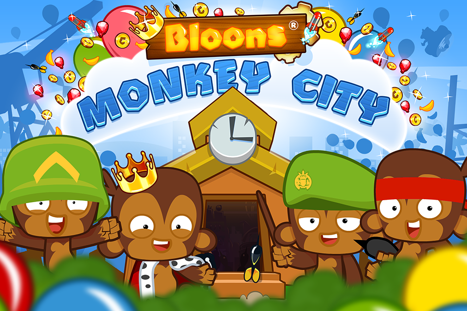 Bloons Monkey City 5