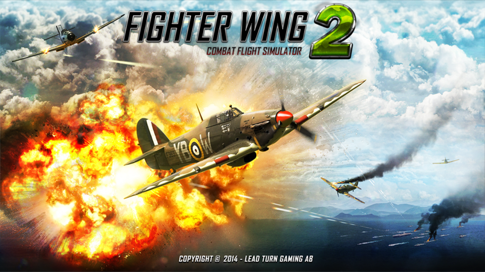 FighterWing 2 Flight Simulator 1