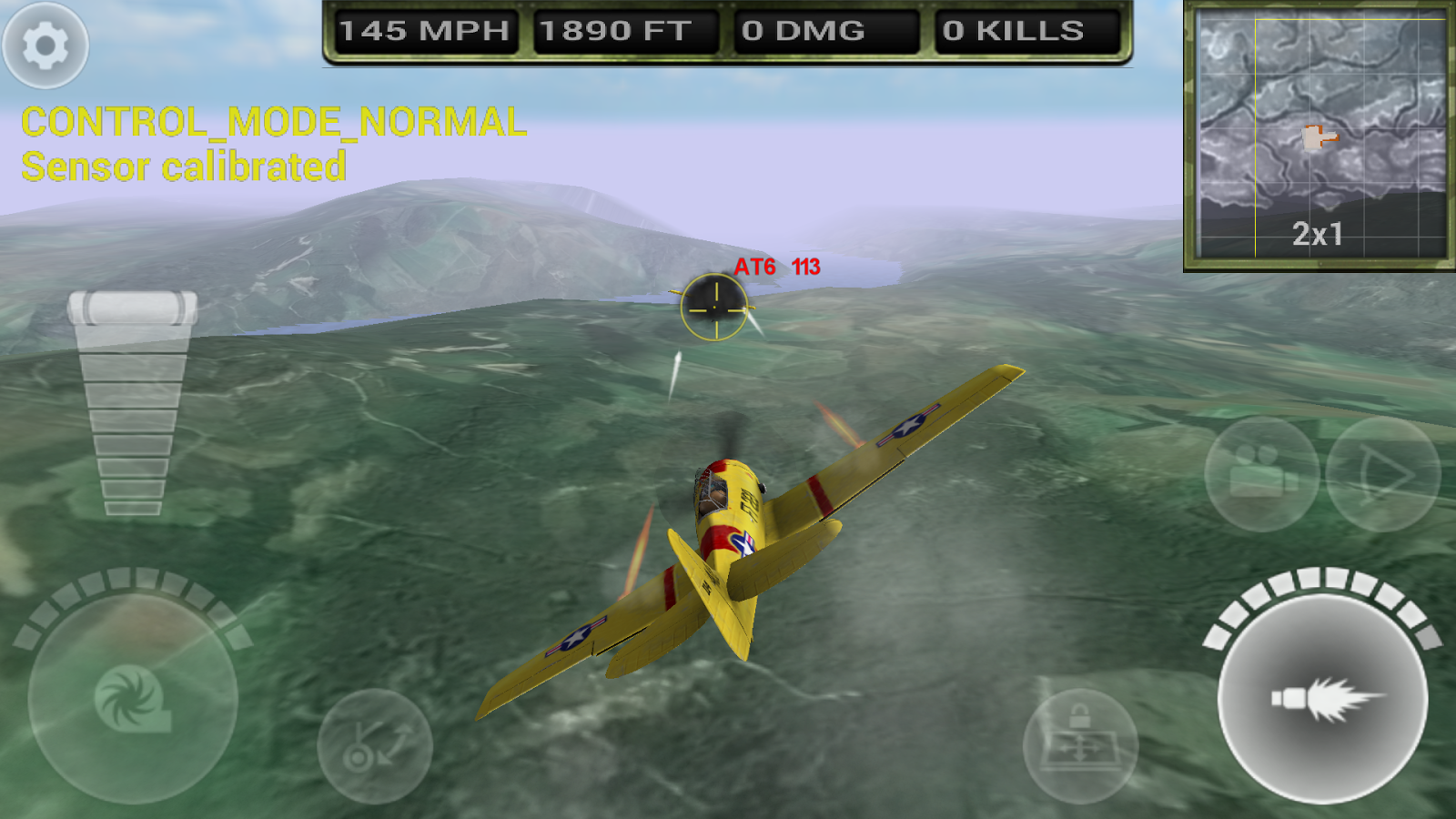FighterWing 2 Flight Simulator 3