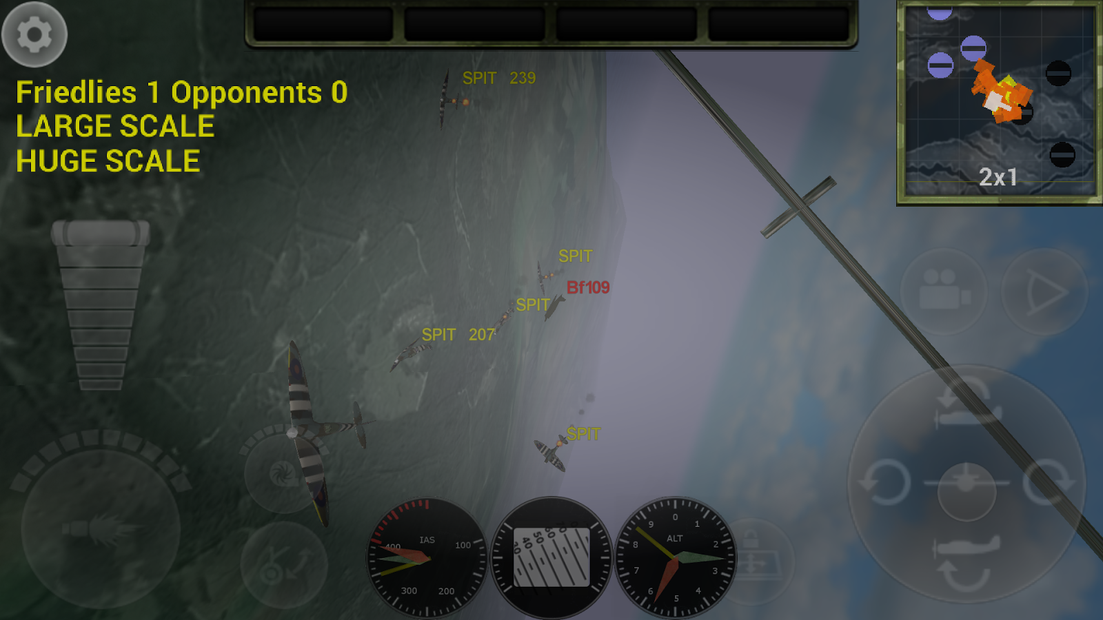 FighterWing 2 Flight Simulator 4