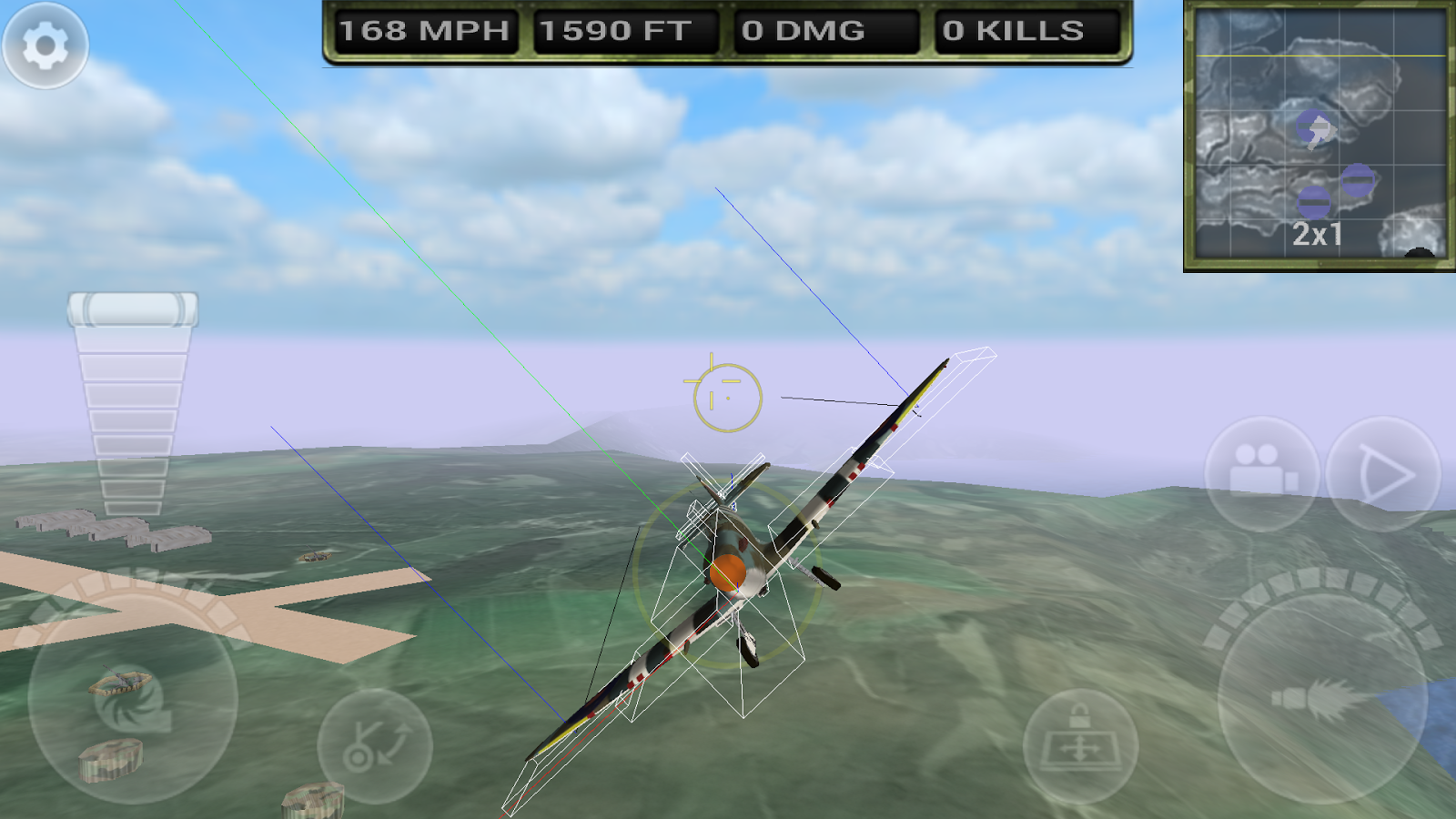 FighterWing 2 Flight Simulator 7