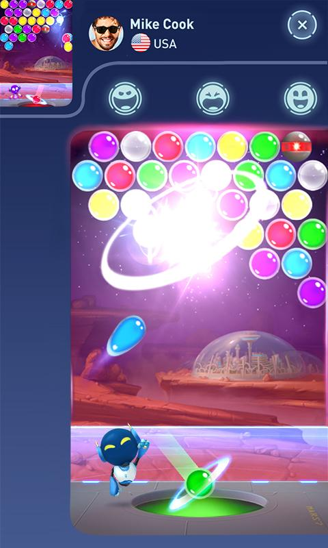 Mars Pop - Bubble Shooter 6
