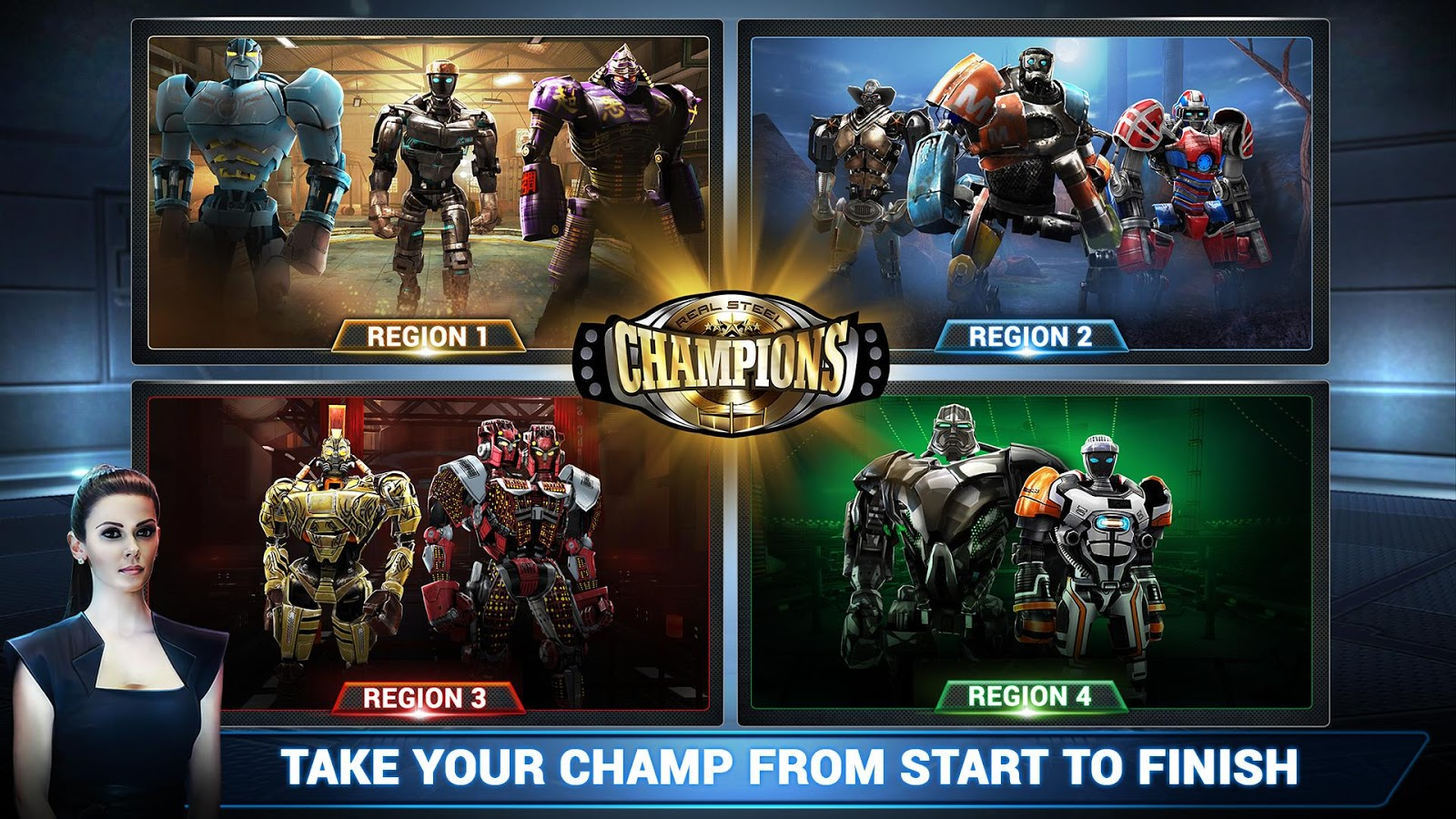 Real Steel Champions 4