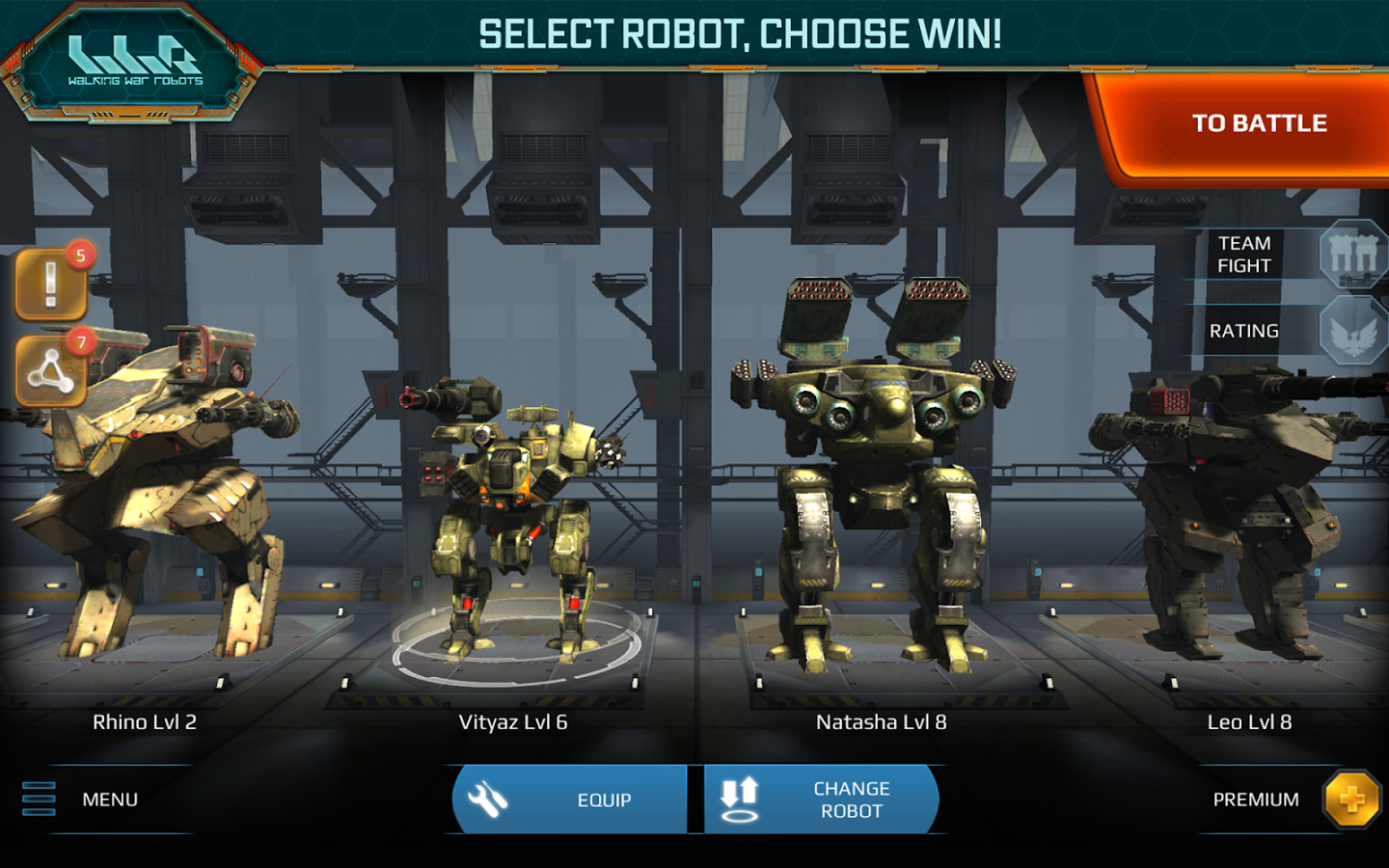 Walking War Robots 3