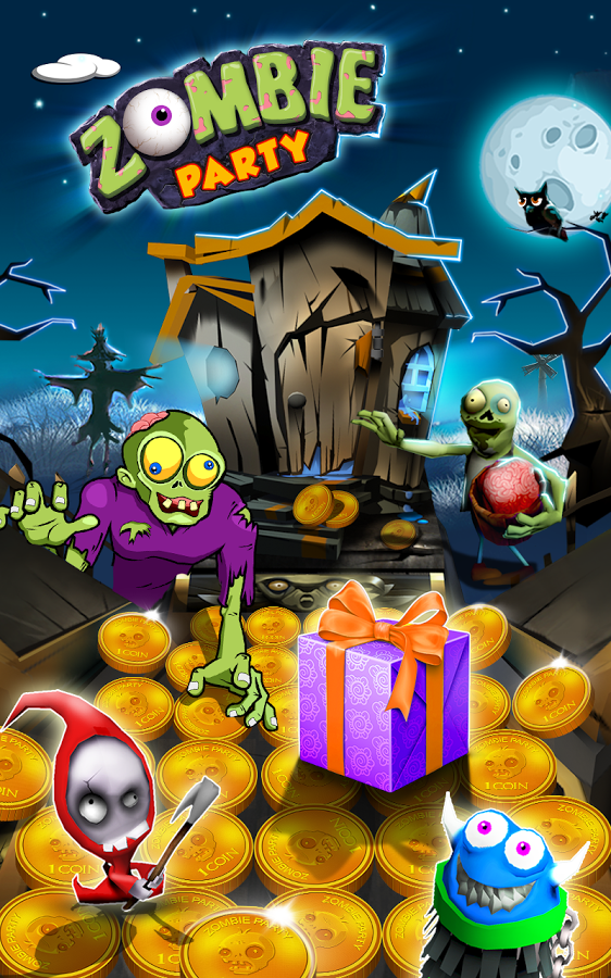 Zombie Party Coin Mania 1