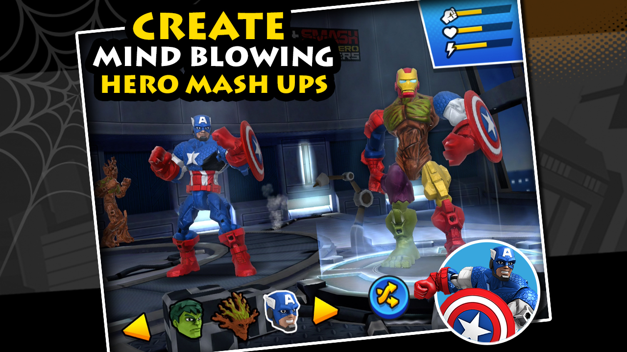 Mix+Smash Marvel Mashers 4