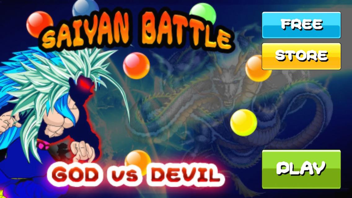 Saiyan Battle of Goku Devil 2