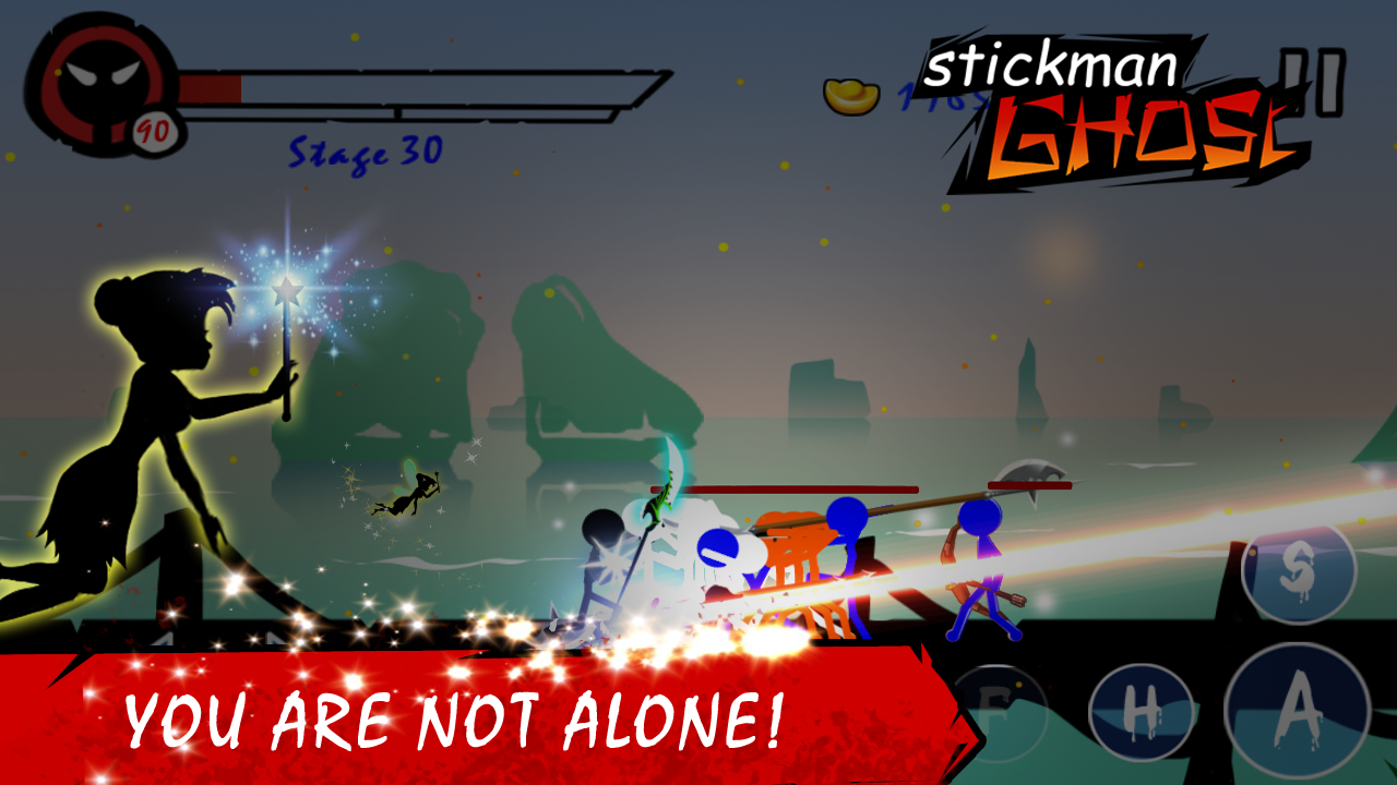 Stickman Ghost Warrior 4