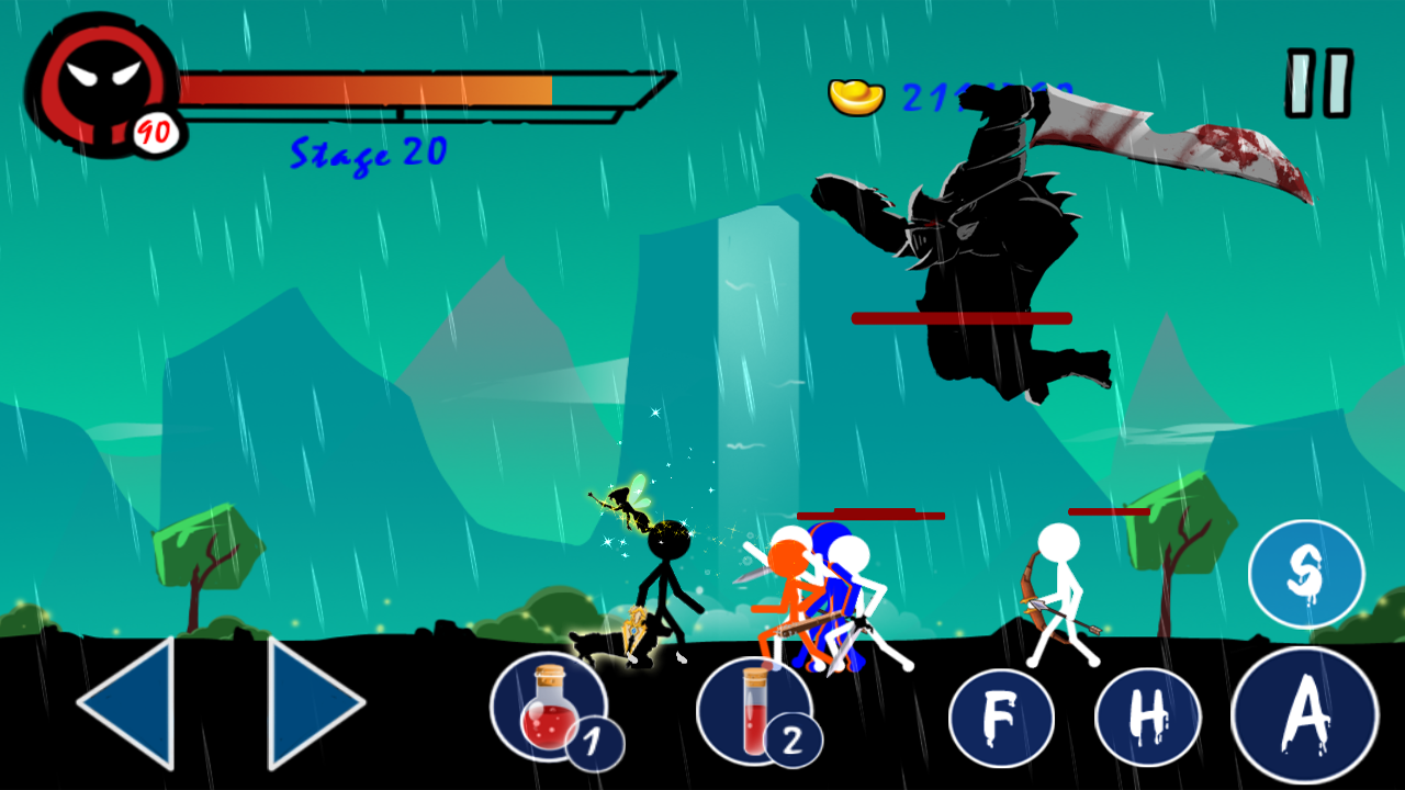Stickman Ghost Warrior 5