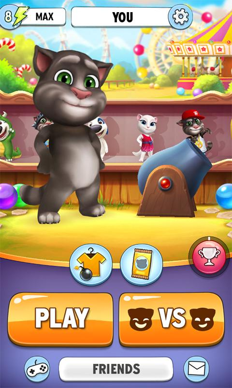 Talking Tom tirador de la burbuja 5