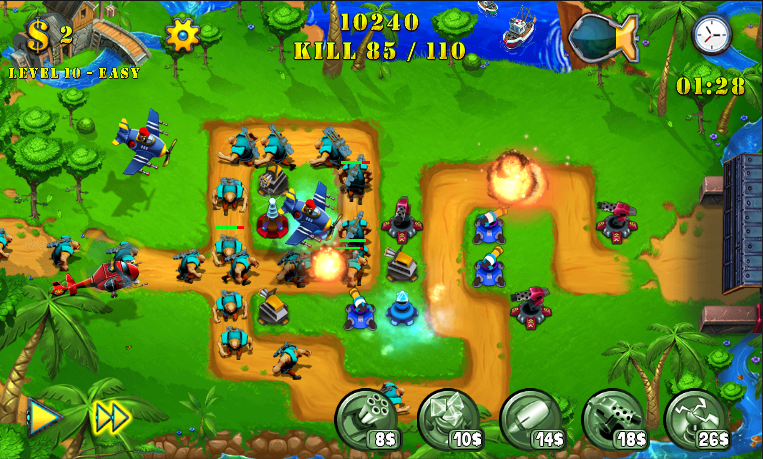 Tower Defense Evolution 2 -3