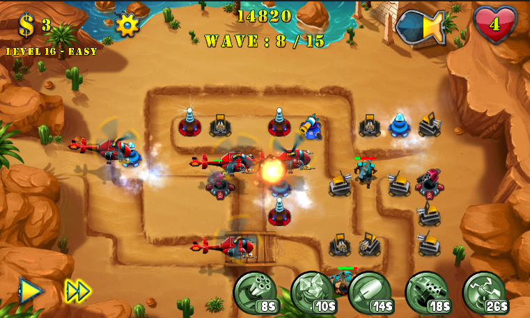 Tower Defense Evolution 2 -4