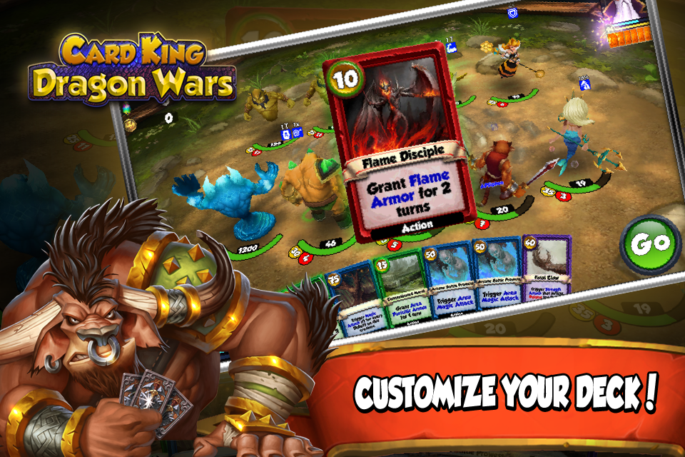 Card King Dragon Wars 2