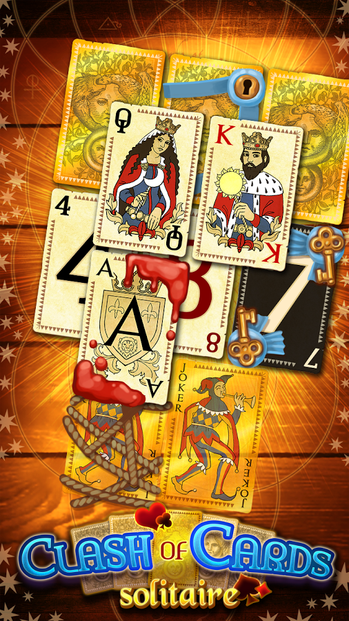 Clash of Cards Solitaire 1