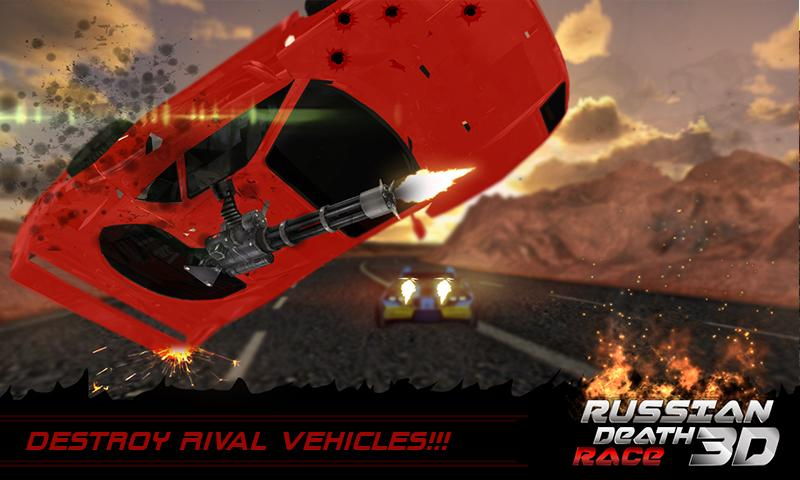Death Racing Fever Car 3D - 1
