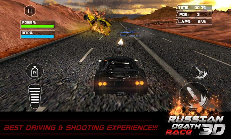 Death Racing Fever Car 3D - 4