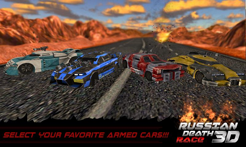 Death Racing Fever Car 3D - 6