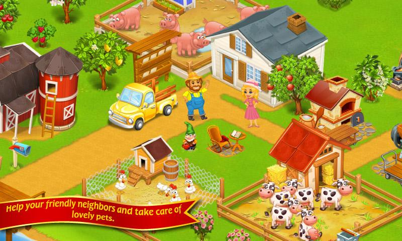 Farm Town Happy City Day Story 2