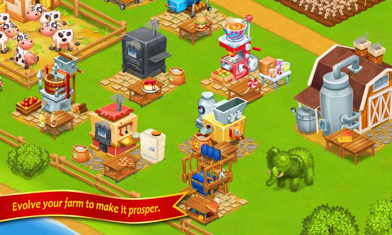 Farm Town Happy City Day Story 5