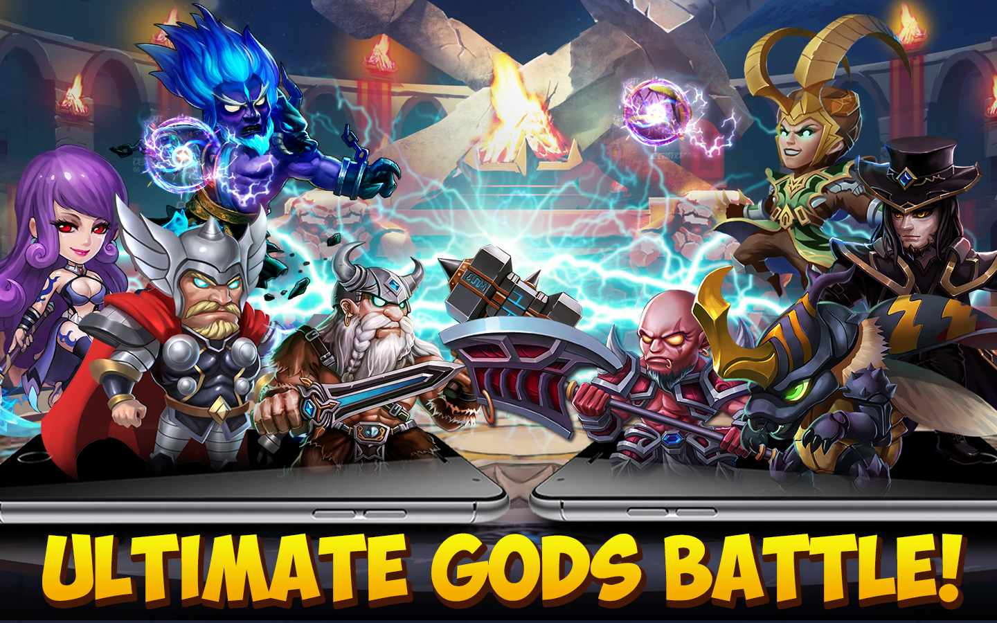 The Battle of Gods-Apocalypse 6