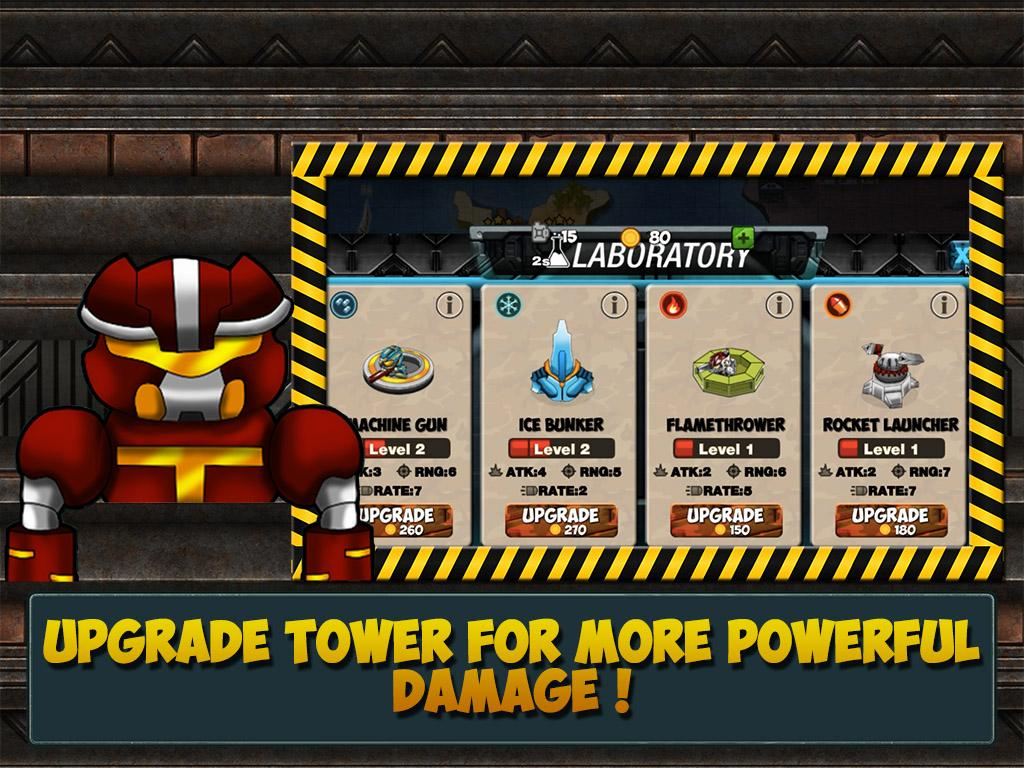 Tower War Defense Evolution 5