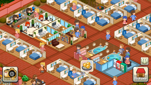 Hotel Story Resort Simulation v196 Mod Apk Unlimited Gems