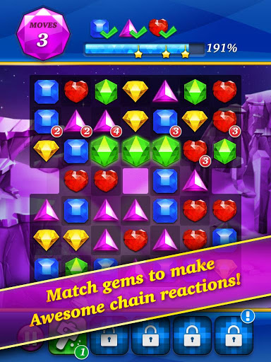 Gem Mania:Diamond Match Puzzle