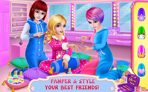 Girls PJ Party - Spa & Fun