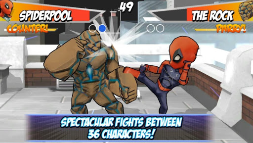 Superheros 2 Fighting Games