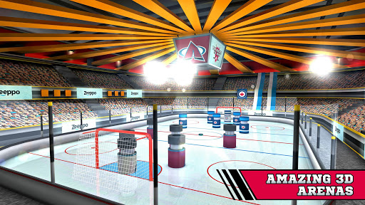 Pin Hockey - Ice Arena