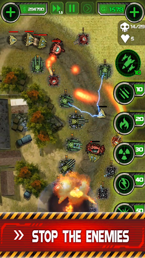 Tower Defense: Civil War