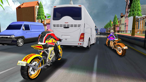 Turbo Racer - Bike Racing