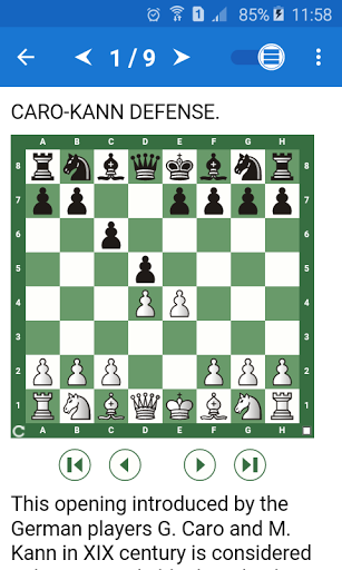 Chess Tactics in Caro-Kann Def