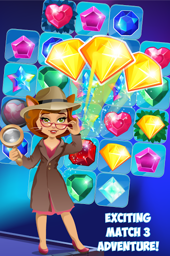 Jewels Detective Match 3