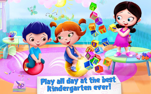 Kindergarten Kids-Play All Day