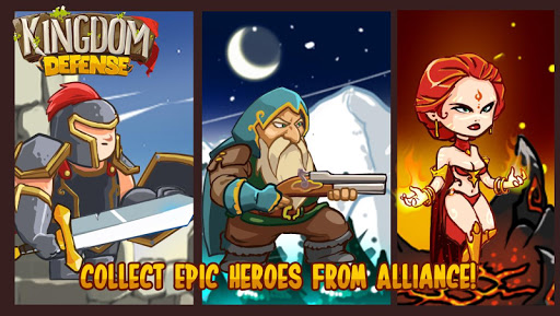 Kingdom Defense: Epic Hero War