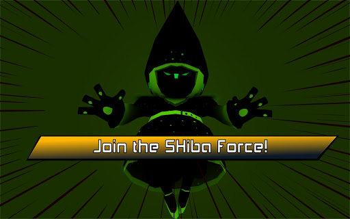 Mighty Swiping Shiba Force