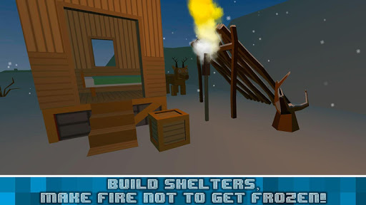Winter Craft Survival Sim 3D