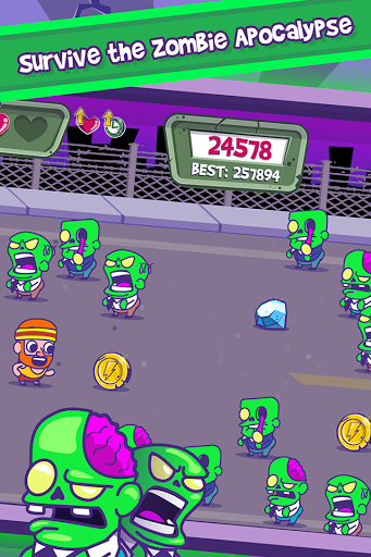 Zombie Chase - Runner Game