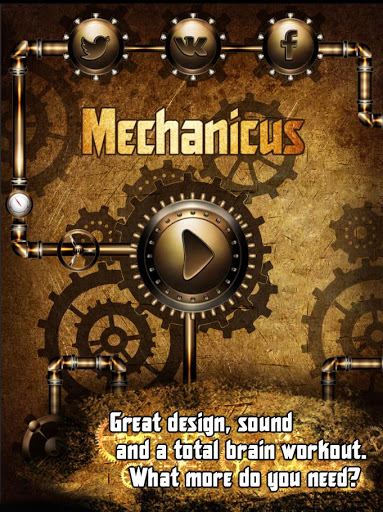 Mechanicus - steampunk puzzle
